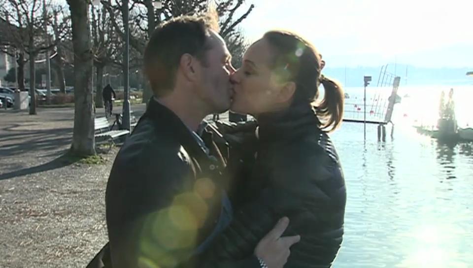 Nachwuchs: Tanja Gutmann heisst Ian Enea willkommen