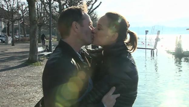 Video «Nachwuchs: Tanja Gutmann heisst Ian Enea willkommen» abspielen