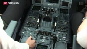 Video «Europas Fluggesellschaften setzen auf neue Cockpit-Regeln» abspielen
