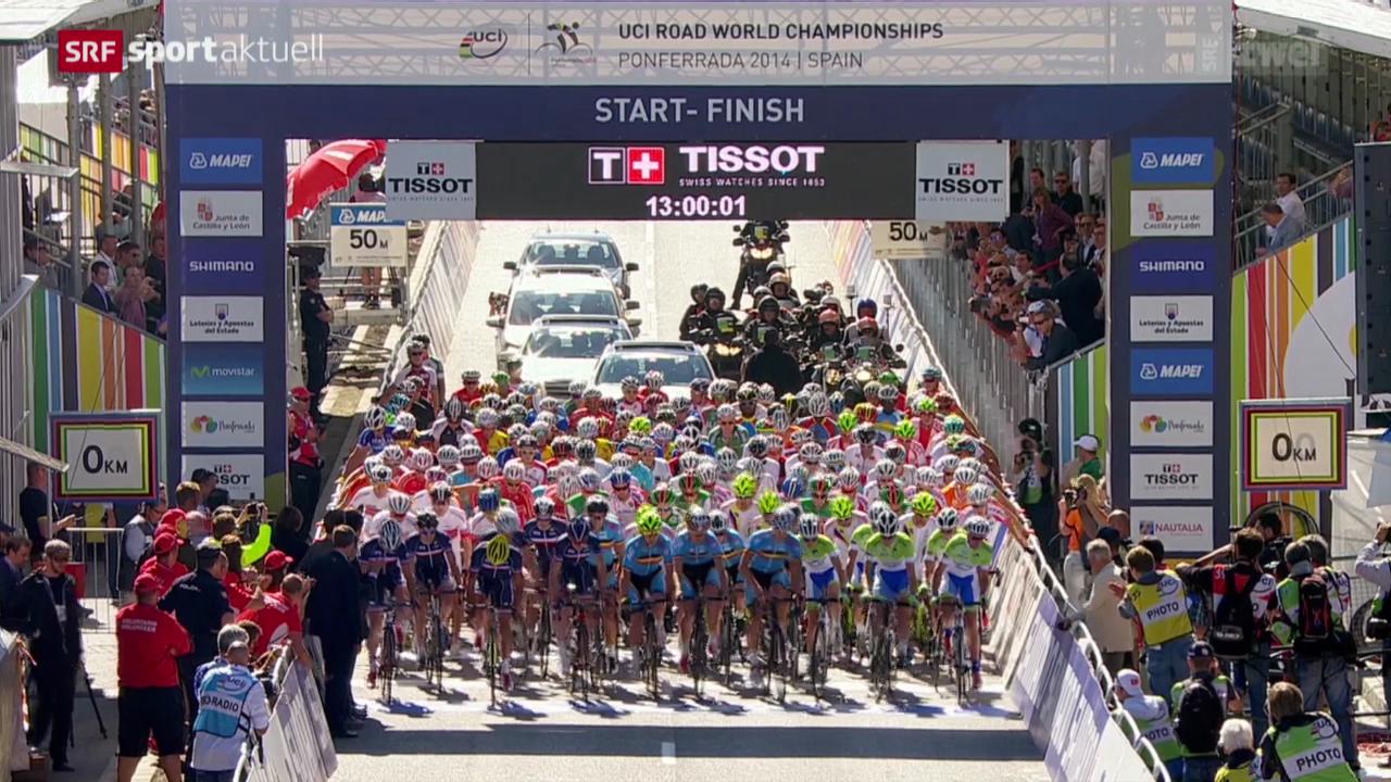 Radsport: WM Ponferrada, Strassenrennen U23