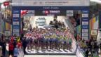 Video «Radsport: WM Ponferrada, Strassenrennen U23» abspielen