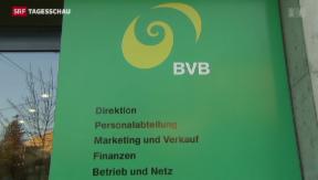 Video «Basler Verkehrsbetriebe müssen heftige Kritik einstecken» abspielen
