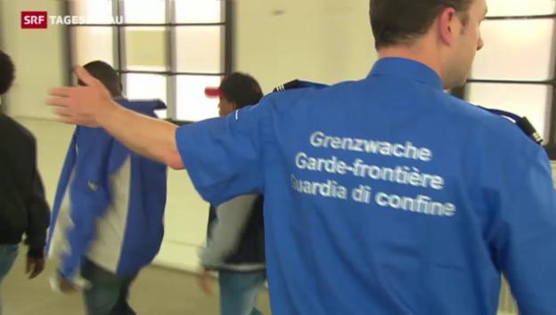 Video «Tessin fordert strengere Grenzkontrollen» abspielen