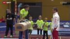 Video «Kunstturnen: Kids Day im Hallenstadion Zürich» abspielen