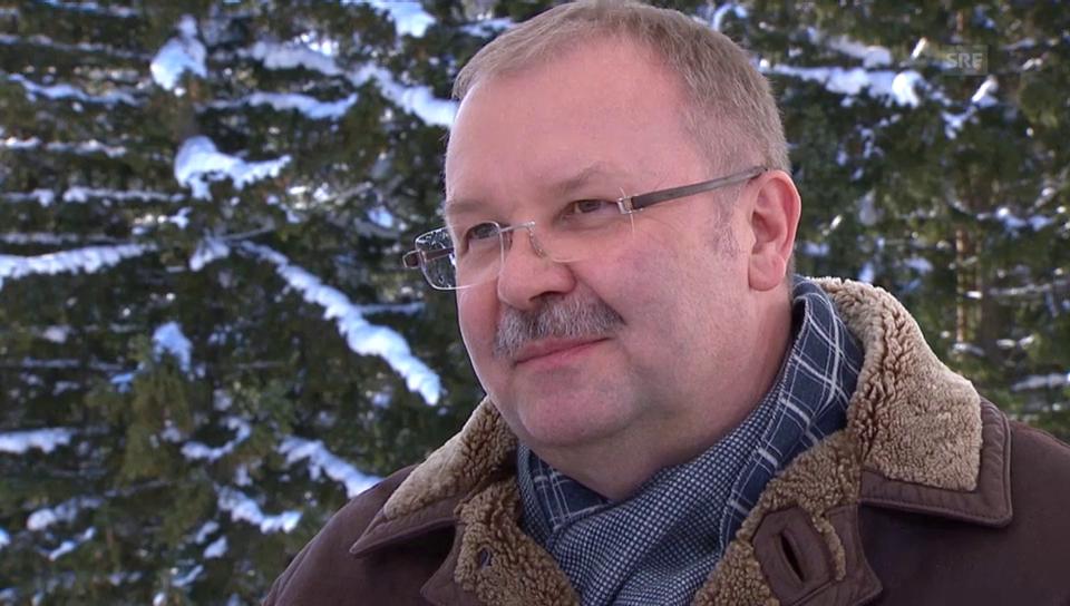 Schlussbilanz mit Alois Zwinggi, Direktor WEF