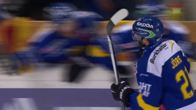 Video «Eishockey: 2. Playoff-Final 2015, HCD – ZSC, 4:2 Jörg» abspielen