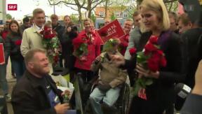 Video «Ausgang der dänischen Wahl völlig offen» abspielen
