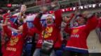 Video «Standesgemässer Sieg der «Sbornaja» über Deutschland» abspielen