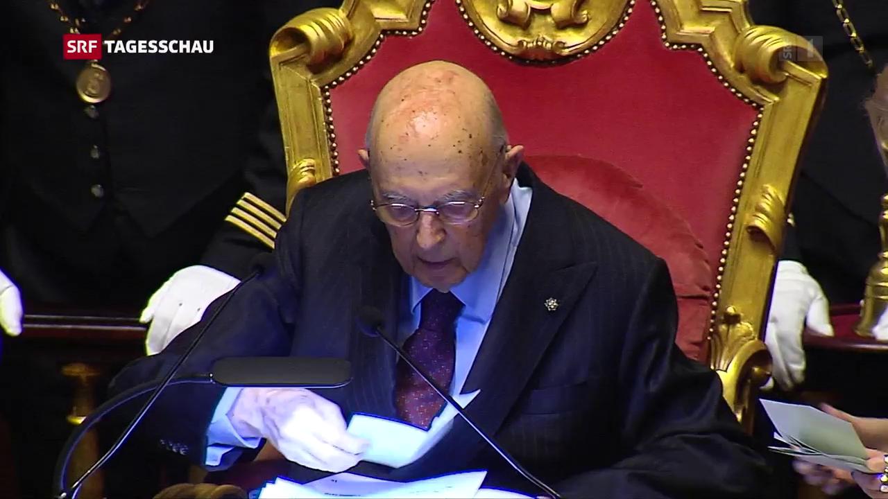 Italien besetzt die Parlamentspräsidien