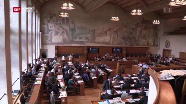 Video «Vorwürfe an Berner Regierung» abspielen