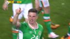 Video «Fussball: Zusammenfassung Irland-Schweiz (25.03.2016)» abspielen
