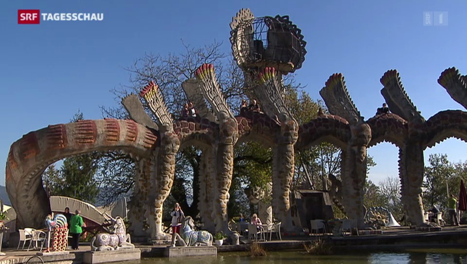 Bruno-Weber-Park schliesst seine Türen