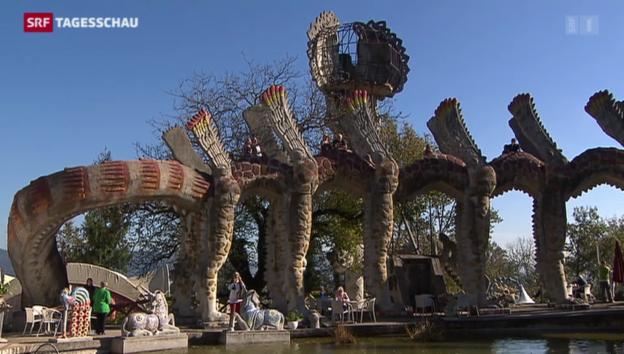 Video «Bruno-Weber-Park schliesst seine Türen» abspielen