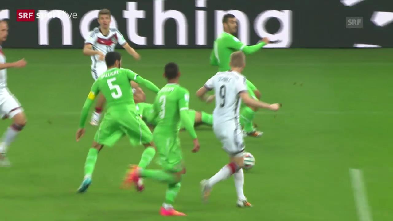 Spielbericht Deutschland - Algerien