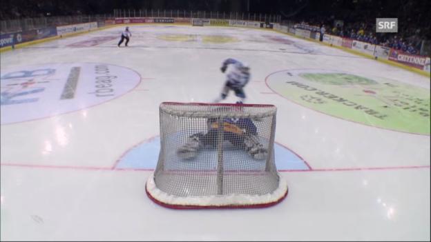 Video «NLA: ZSC Lions - Fribourg» abspielen