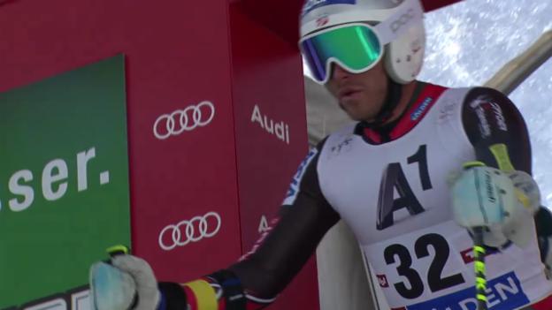 Video «Ski alpin: 1. Lauf von Bode Miller («sportlive»)» abspielen