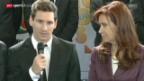 Video «FIFA WM 2014: Argentinien am Tag nach der Final-Niederlage» abspielen