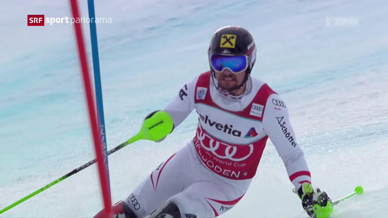 Hirscher gewinnt Skifest in Adelboden