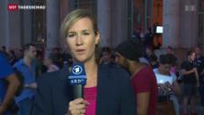 Video «Einschätzungen der ARD-Korrespondentin Anna Tillack» abspielen