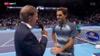 Video «Tennis: Interview mit Roger Federer» abspielen
