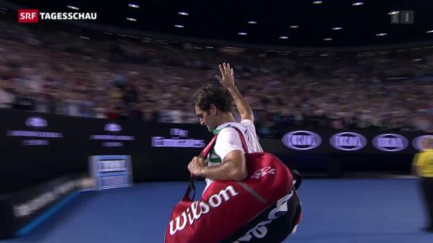 Video «Zwangspause für Federer» abspielen