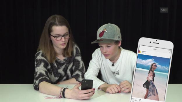 Video «Fake- oder Real-Check auf Instagram» abspielen