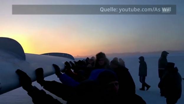 Video «Volle «Manns»-Kraft voraus!» abspielen