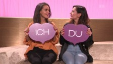 Video «Im Duell: Lea Lu und Daniela Sarda singen bei «Ich oder Du»» abspielen