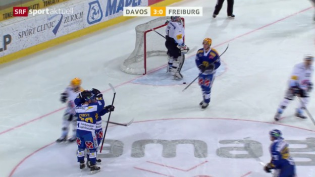 Video «Eishockey: NLA, Davos - Freiburg» abspielen