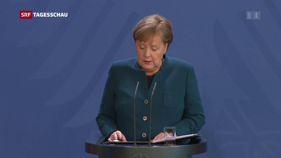 Aus dem Archiv: Deutschland verschärft die Massnahmen