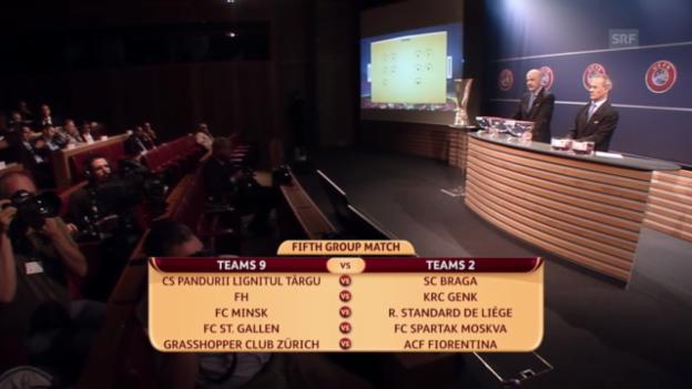 Video «Europa-League-Playoffs: Die Auslosung» abspielen