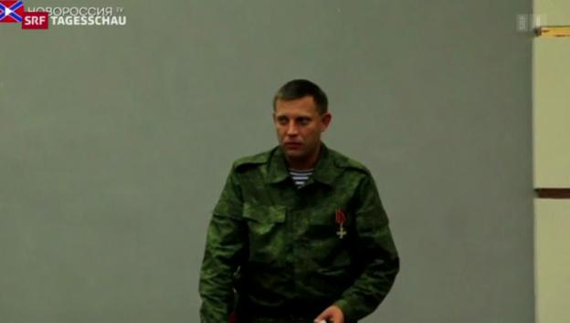 Video «Unklarheit über angebliche russische Lieferung an Seperatisten» abspielen