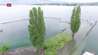 Video «Hochwassergefahr bleibt bestehen» abspielen
