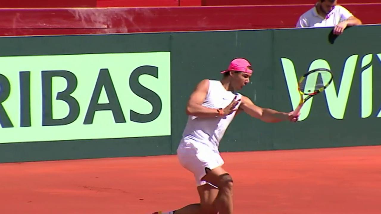 Nadal kehrt auf den Tennisplatz zurück