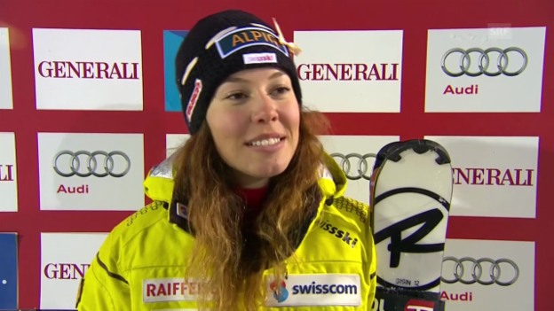 Video «Ski Alpin: Interview mit Michelle Gisin» abspielen