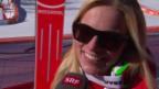Video «Ski: Abfahrt der Frauen, Interview mit Lara Gut (sotschi direkt, 12.02.2014)» abspielen