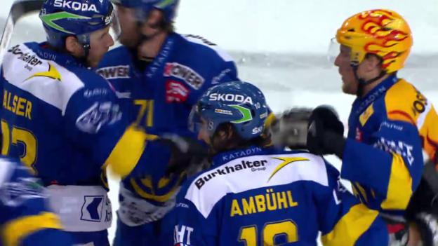 Video «Eishockey: Playoff-Final, Spiel 4, HC Davos - ZSC Lions» abspielen