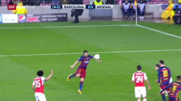 Video «Tor Suarez» abspielen