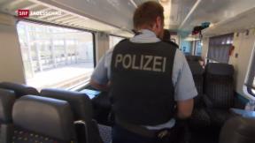 Video «Kantonspolizisten als Grenz-Verstärkung» abspielen