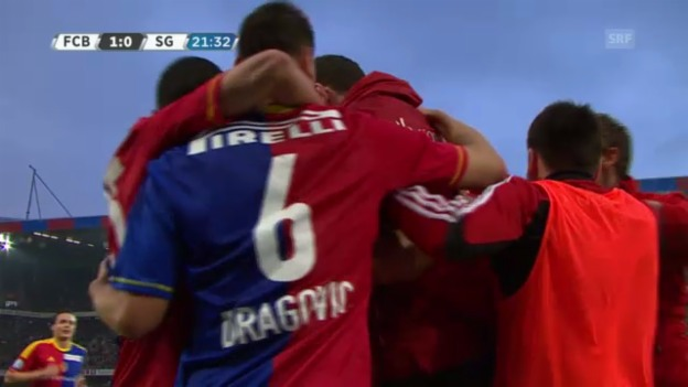 Video «Basel - St. Gallen: Die Highlights» abspielen
