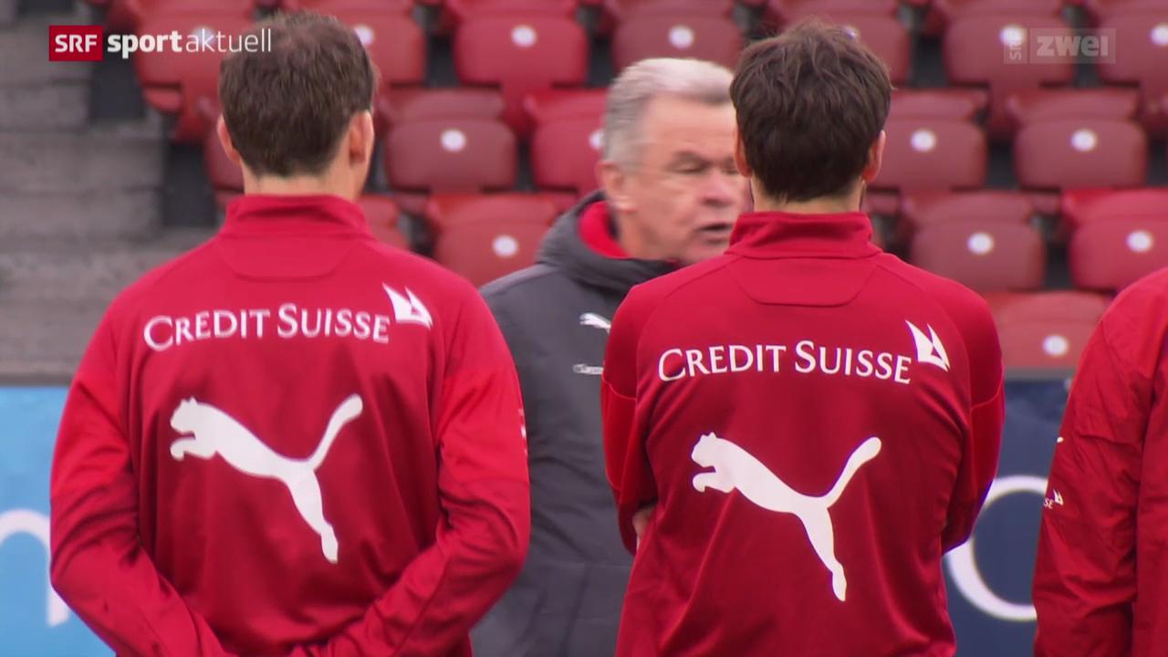 Fussball: Wer stürmt für die Nati gegen Kroatien?