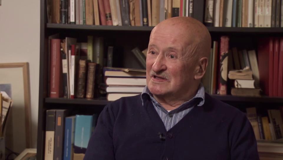 Giovanni Orelli im Dokfilm «Weggehen, um anzukommen» (Ausschnitt)