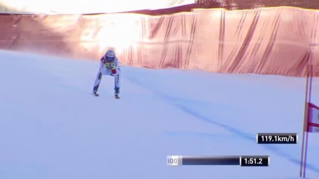 Video «Ski Alpin: Abfahrt in Gröden, Fahrt von Didier Defago» abspielen