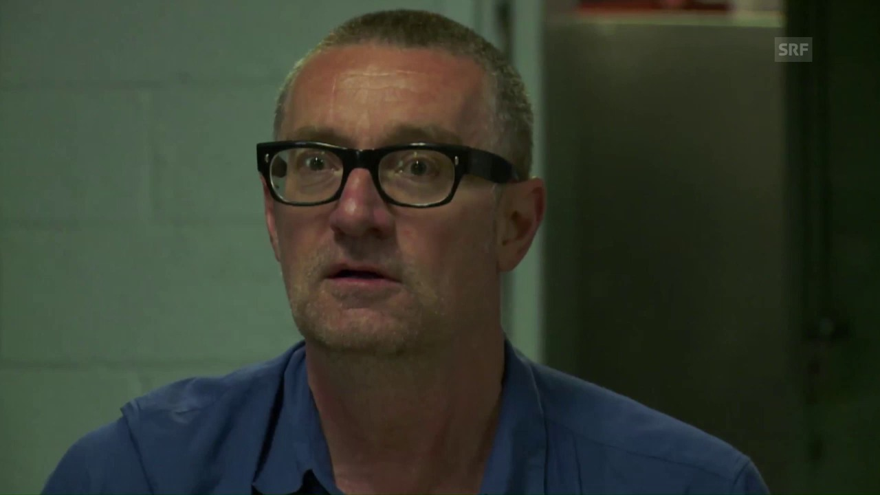 Thomas Hirschhorn: Wutausbruch beim Dreh