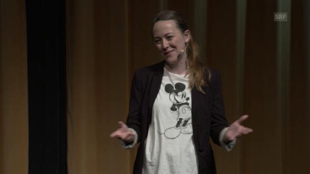 Video «Lisa Catena muss sich entscheiden: Kind oder Hund?» abspielen