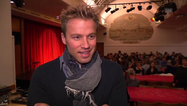 Video «Jonny Fischer über sein Liebesglück» abspielen
