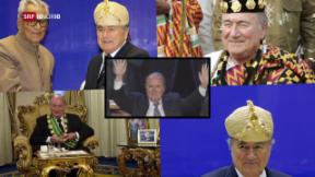 Video «Fragwürdige Aufträge unter Ex-Fifa-Präsident Blatter» abspielen
