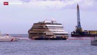 Video ««Costa Concordia» wieder aufrecht» abspielen