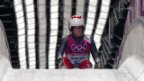 Video «Rodeln: 3. Lauf von Martina Kocher (sotschi direkt, 11.02.2014)» abspielen