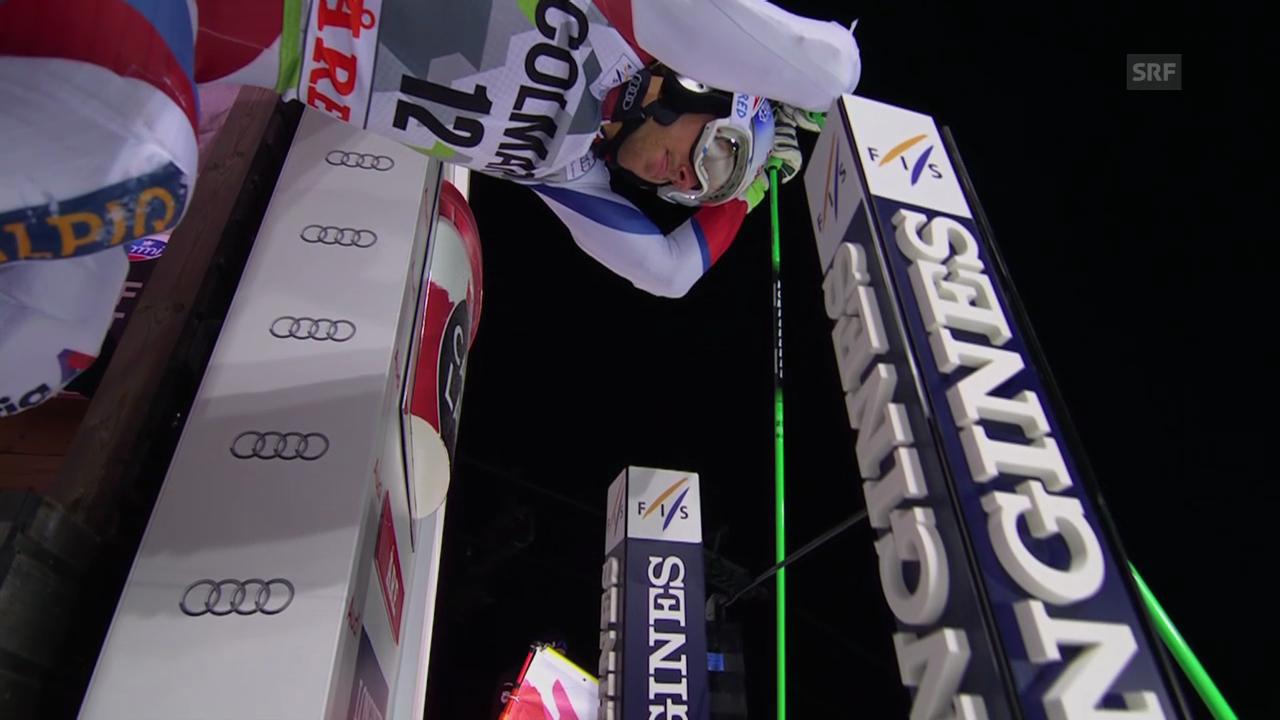 Ski: Weltcup Männer, Riesenslalom Are, 1. Lauf Janka
